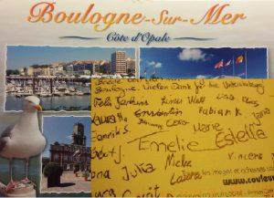 Boulogne-sur-Mer Schüler schreiben vom Austausch